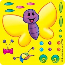 Make-Your-Own Butterfly Stickers