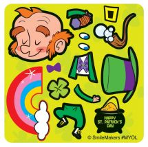 Make-Your-Own™ Leprechaun Stickers