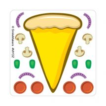 Make-Your-Own Pizza Stickers