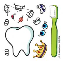Make-Your-Own Tooth Guy Stickers