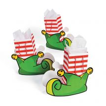 Elf Shaped Boot Gift Bags