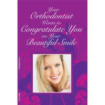 Orthodontist Congrats Recall Cards