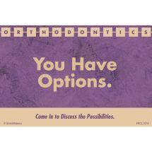 Options Orthodontics Recall Cards