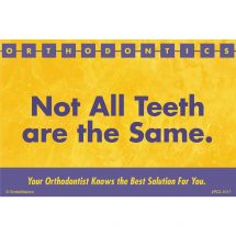 All Teeth Not Same Recall Cards