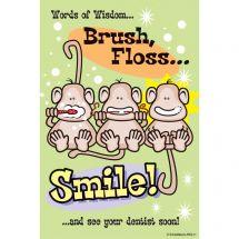 Brush Monkeys Recall Cards