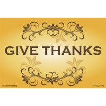 Give Thanks Recall Cards