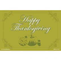 Happy Thanksgiving Recall Cards