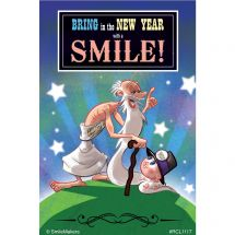 Bring New Year Smile Recall Cards