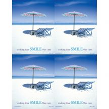 Wish Your Smile Was Here Laser Cards