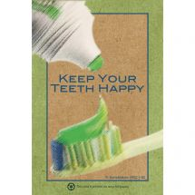 Happy Teeth Recycled Recall Cards