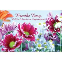 Breathe Easy Floral Recall Cards
