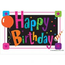 Happy Birthday Party Recall Cards