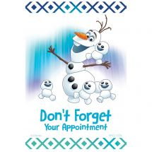 Disney Frozen Olaf Don't Forget Recall Cards