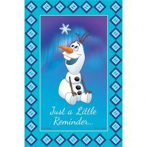Disney Frozen Olaf Little Reminder Recall Cards