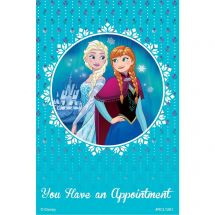 Disney Frozen Sisters Appointment Recall Cards