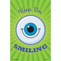 Keep Em Smiling Eyecare Recall Cards