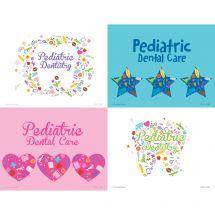Pediatric Dentistry Icon Laser Recall Cards