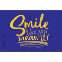 Custom Smile Like You Mean It Recall Cards