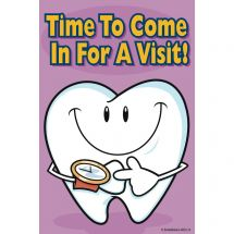 Time To Visit Tooth Cards