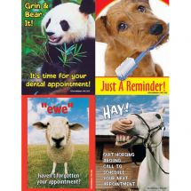 Asst. Animals Laser Cards