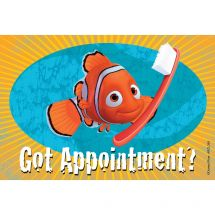 Finding Nemo Got Appt? Recall Cards