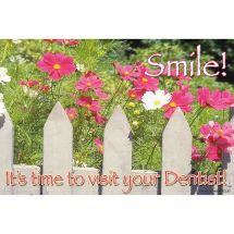 Picket Fence Reminder Recall Cards