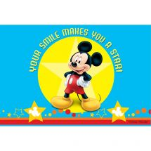 Mickey Mouse Star Smile Recall Cards