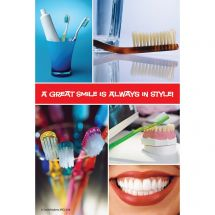 Dental Icon Block Recall Cards