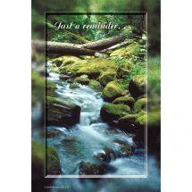 Waterfall Reminder Recall Cards
