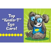 Koala-T Eye Care Recall Cards