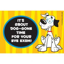 Dog-Gone Time Eye Recall Cards