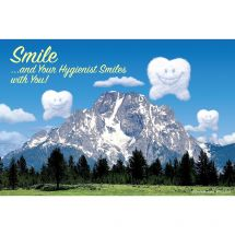 Hygienist Happy Tooth Recall Cards