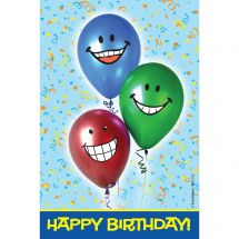 Birthday Balloons Recall Cards