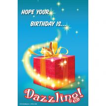 Dazzling Birthday Recall Cards