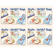 Steps for a Healthy Smile Laser Cards
