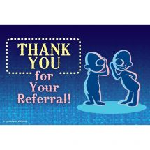 Thanks for Referral Recall Cards