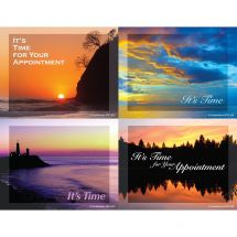 Tranquil Sunset Laser Cards