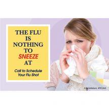 Adult Flu Shot Recall Cards