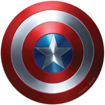 Captain America Shield Re-stickable Stickers