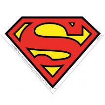 Superman Logo Re-stickable Stickers