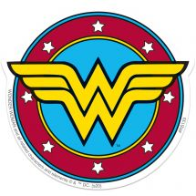 Wonder Woman Logo Re-stickable Stickers