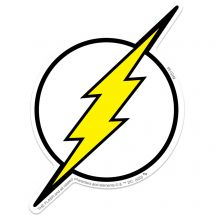 Flash Lightning Bolt Re-stickable Stickers