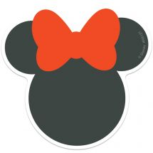 Minnie Mouse Re-stickable Stickers