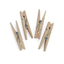 Medium Wooden Spring Clothespins