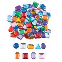 Self-Adhesive Geometric Jewels