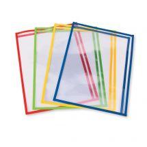 Side-Loading Dry Erase Sheet Sleeves