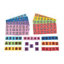 Magnetic Letters - Alphabet Squares Set