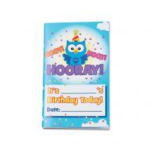 Owl Birthday Journals