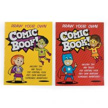 Comic Book Superhero Journals