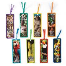 Rainforest Animal Bookmarks